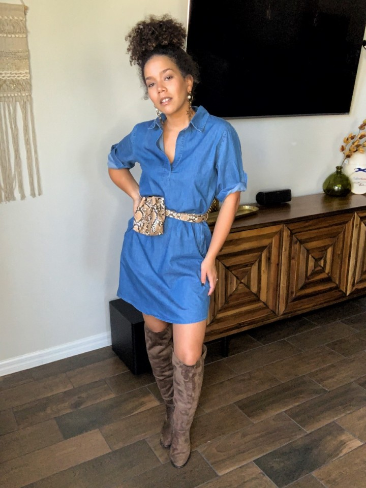 Fall outfit ideas for hotweather